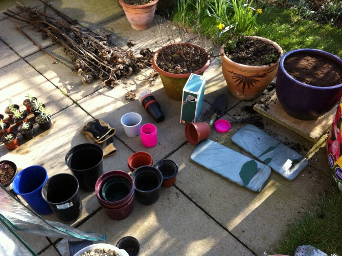 Potting and Pottering