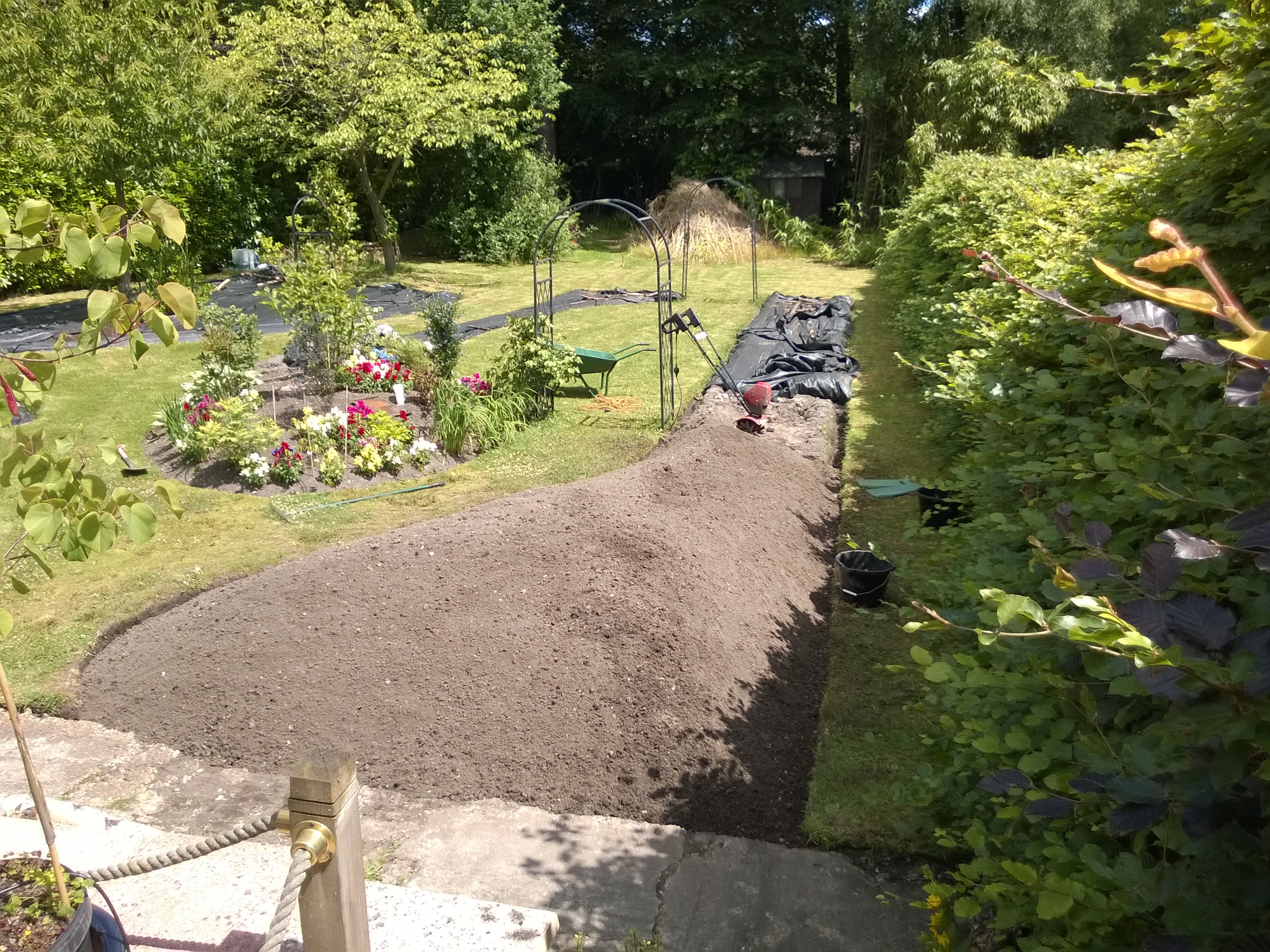 New Border In Progress